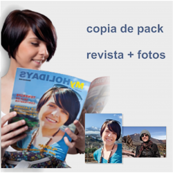 COPY OF PACK MAGAZINE + PHOTOS